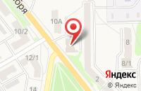 Схема проезда до компании Тульская областная автошкола в Узловой