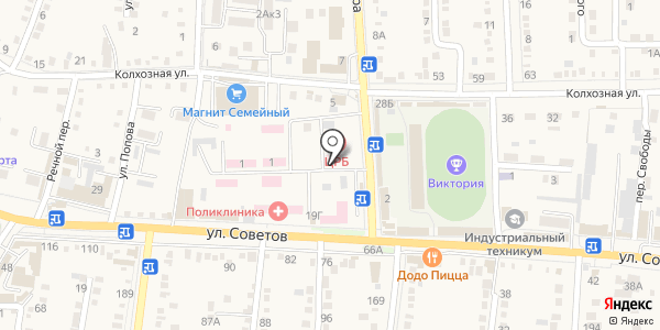 Банкомат, Крайинвестбанк, ПАО. Схема проезда в Абинске