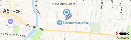 Банкомат Юго-Западный банк Сбербанка России на карте Абинска