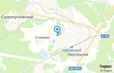 Местоположение на карте пункта техосмотра по адресу Московская обл, г Сергиев Посад, рп Скоропусковский