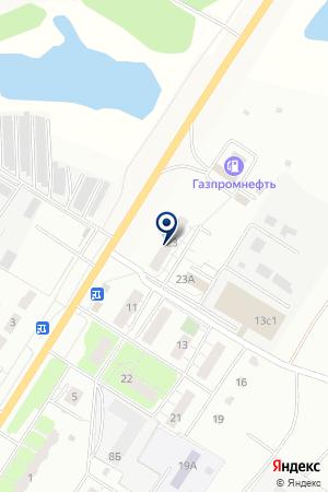 ТФ ЛИГА ВКУСА на карте Сергиева Посада