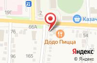 Схема проезда до компании Мир наклеек в Абинске