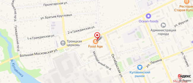 Карта расположения пункта доставки Халва в городе Старая Купавна