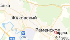 Гостиницы города Кратово на карте