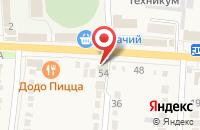Схема проезда до компании Агрокомплекс в Абинске