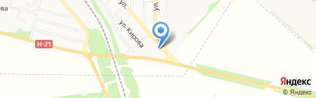 Надежда продовольственный магазин на карте Харцызска