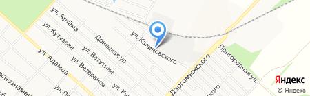 Карголифт на карте Харцызска