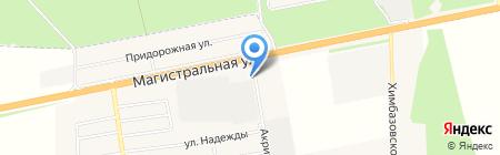 АЗС БТК на карте Старой Купавны