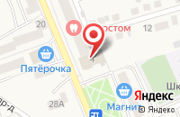 Схема проезда до компании Ветеран в Старой Купавне