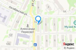 Сдается комната в однокомнатной квартире в Пересвете Октябрьская улица, 7