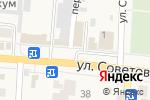 Схема проезда до компании Овощной магазин в Абинске