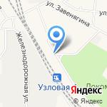 Эвакуатор71 на карте Узловой