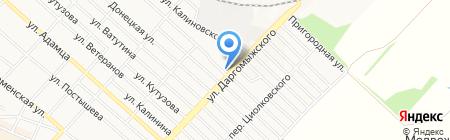 Харцызская государственная лечебница ветеринарной медицины на карте Харцызска