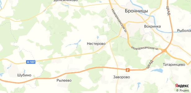 Нестерово на карте