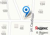 Крючок на карте