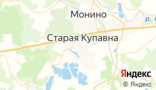 Гостиницы города Старая Купавна на карте