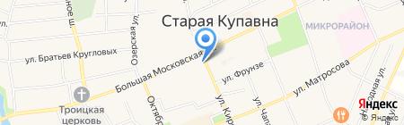 Служба доставки пиццы на карте Старой Купавны