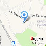 Средняя общеобразовательная школа №61 на карте Узловой