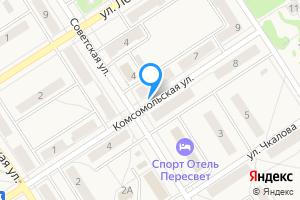 Сдается двухкомнатная квартира в Пересвете ул Комсомольская