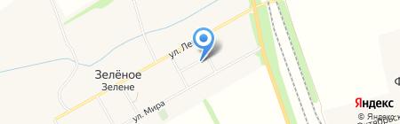 Леоль на карте Иловайска