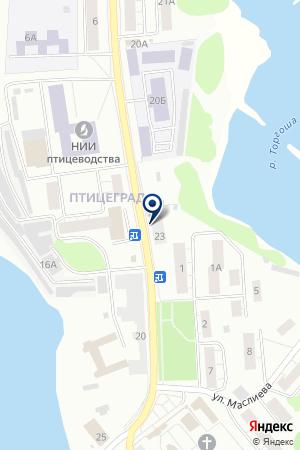 ПРОДОВОЛЬСТВЕННЫЙ МАГАЗИН ФЕРМЕР-ВАКЗО на карте Сергиева Посада