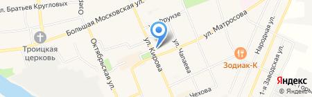 Магазин текстиля на ул. Кирова на карте Старой Купавны