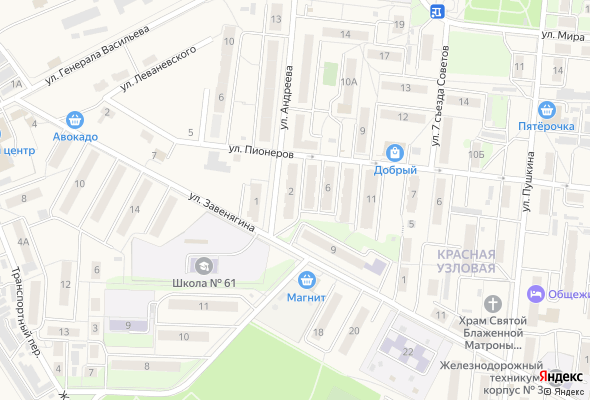 жилой комплекс по ул. Андреева-Ударников