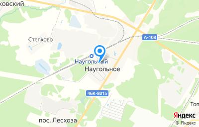 Местоположение на карте пункта техосмотра по адресу Московская обл, г Сергиев Посад, д Наугольное, д 129А