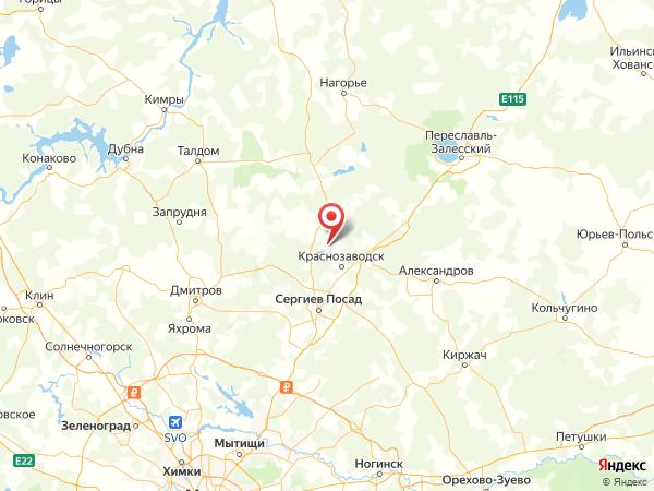 поселок городского типа Богородское на карте