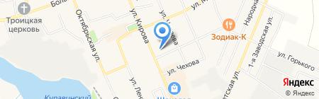 Салон сотовой связи на карте Старой Купавны