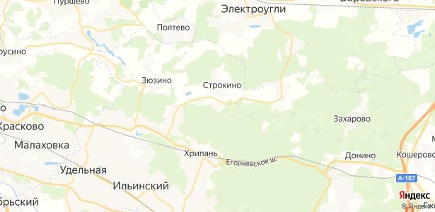 Лужки на карте