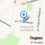 Алексеевская на карте Узловой