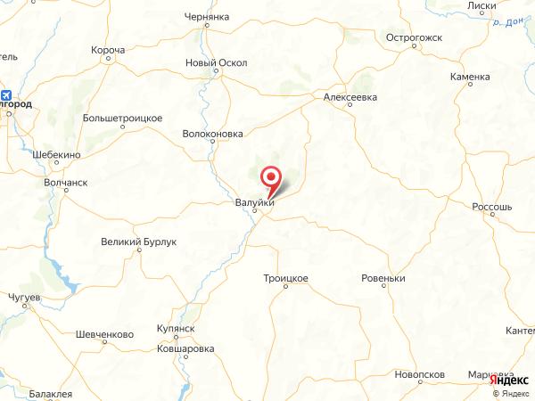 село Борисово на карте