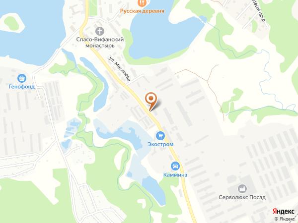 Остановка Экостром (Московская область)