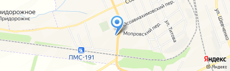 Магазин автозапчастей на ул. Ломоносова на карте Иловайска