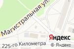 Схема проезда до компании Чиполлино в Узловой