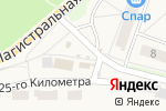 Схема проезда до компании Каприз в Узловой