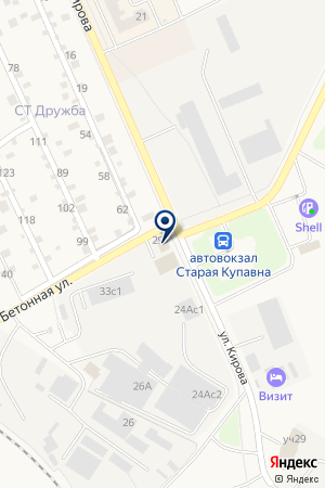ПРОИЗВОДСТВЕННОЕ ПРЕДПРИЯТИЕ ХИМФАРМКОМБИНАТ на карте Ногинска