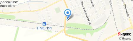 АЗС ДНК на карте Иловайска