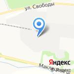 Базальто пластик на карте Новомосковска