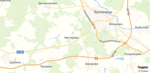 Панино на карте