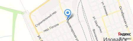 Уголок на карте Иловайска