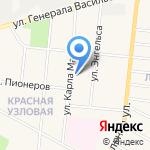 Узловский железнодорожный техникум на карте Узловой