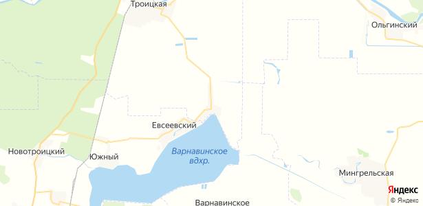Кувичинский на карте