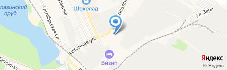 АЗС Роснефть на карте Старой Купавны