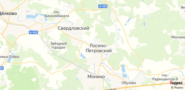 Осеево на карте