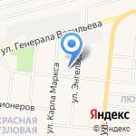 Средняя общеобразовательная школа №59 на карте Узловой