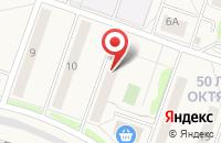 Схема проезда до компании Узловая-9 в Узловой