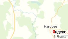 Отели города Селищи на карте