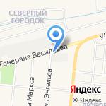 Газпром межрегионгаз Тула на карте Узловой